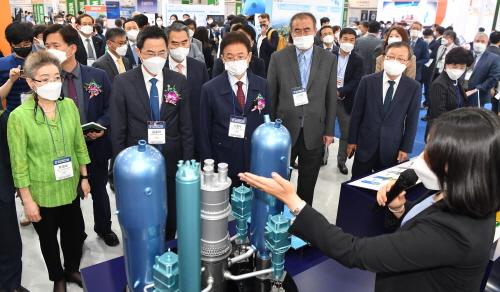 2021 국제원자력에너지산업전(WNEE 2021) 성황리 개막