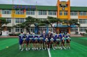 풍기초 축구부, 구슬땀으로 여름방학 훈련 실시