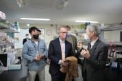 페카 메소 주한 핀란드 대사, 경북바이오산업연구원 방문