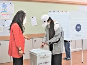 """영주시선관위, 중학생 대상""""민주주의 선거교실""""연수 실시"""