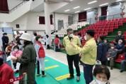 봉화군 권영준의장, 코로나백신접종 현장방문